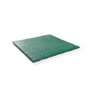 Rubbertegel Groen 50x50x2