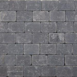Tumbelton Getrommeld 20x30x6 Coal - 10696 - Steenvoordeel.nl