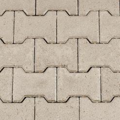 H-profielsteen Machinaal Grijs 8 cm - 13161 - Steenvoordeel.nl