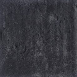 H2O Square 80x40x5 Nero Grey Excellent Relief - 13571 - Steenvoordeel.nl