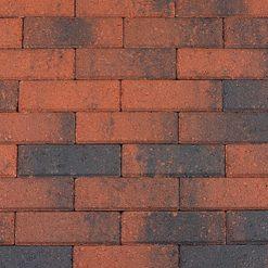 Dikformaat 21x7x6 Rood-Zwart - 15416 - Steenvoordeel.nl