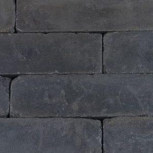Linea 40x15x15 Antraciet Getrommeld - Steenvoordeel