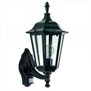 Buitenlamp Ancona staand met sensor | Steenvoordeel