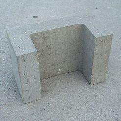 U-element 15x20x30 Grijs - 20928 - Steenvoordeel.nl
