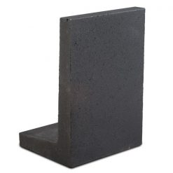 L-element 60x40x40 cm zwart - 2138023 - Steenvoordeel.nl
