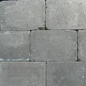 Trommelsteen 20x30x4 Antraciet - 22364 - Steenvoordeel.nl
