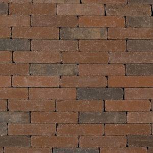 Trommelsteen Waalformaat 7cm Bruin-Zwart - 23136 - Steenvoordeel.nl