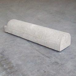 Parkeer- of stootband 1x rond grijs 95x20x17 cm - 26883 - Steenvoordeel.nl
