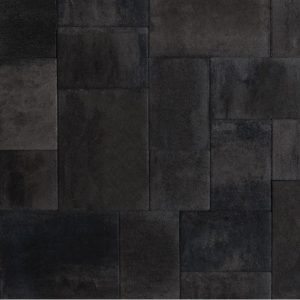 Terras-Verband 4cm Leisteen Grijs-Zwart - Steenvoordeel