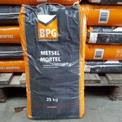 BPG Metselmortel met kalk 25 kg - 3301825 - Steenvoordeel.nl