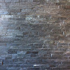 SV Stonepanel Black Quarsit 60x15 Flatfacet - 33041 - Steenvoordeel.nl