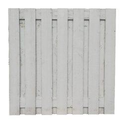 34004 Tuinscherm wit   Steenvoordeel
