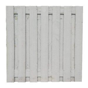 34004 Tuinscherm wit | Steenvoordeel