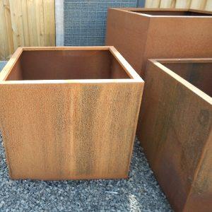 Cortenstaal bloembak 60x75x65 cm - 36615 - Steenvoordeel.nl