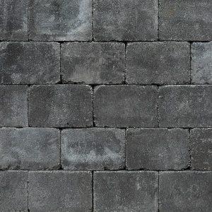39185 -Trommelsteen 21x14x7 cm antraciet | Steenvoordeel