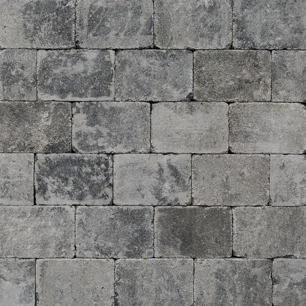 da4d1d9cffb Trommelsteen 21x14x7 cm Grijs/Zwart