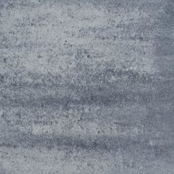 39220 Design Square 60x60x4 Nero-Grey   Steenvoordeel
