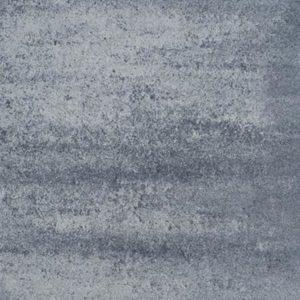 39220 Design Square 60x60x4 Nero-Grey | Steenvoordeel