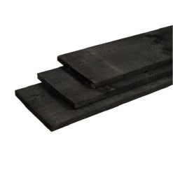 39523 - Steigerhouten plank 16x180x1800 Old Black   Steenvoordeel