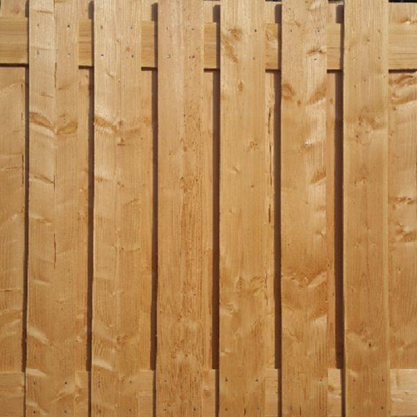 Douglas tuinscherm onbehandeld | Steenvoordeel