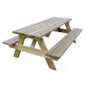 Geïmpregneerde picknickbank | Steenvoordeel