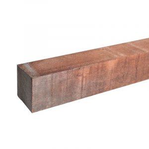 Hardhouten paal Azobe fijnbezaagd | Steenvoordeel