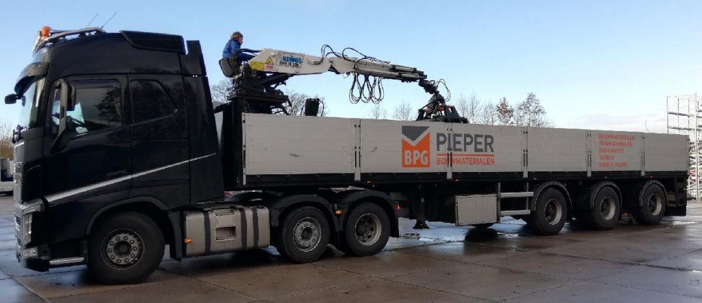 Lange trailer BPG Pieper | Steenvoordeel