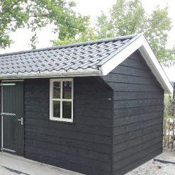 Zweeds rabat vuren zwart gelakt sfeer | Steenvoordeel