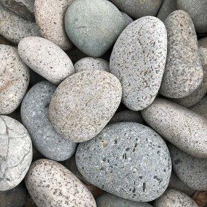Beach Pebbles Grijs - Steenvoordeel