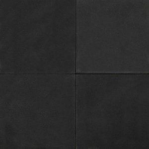 Betontegel 50x50x4 Zwart HK ZVK | Steenvoordeel