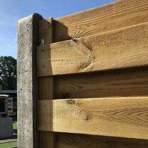 Geïmpregneerde Schutting 15+3 planks (budget) - online kopen op Steenvoordeel